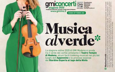 Si apre, nel segno del Verde, la lunga estate musicale di GMI Modena